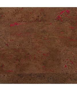 Pannello da rivestimento in sughero Patricia Brown di colore marrone scuro