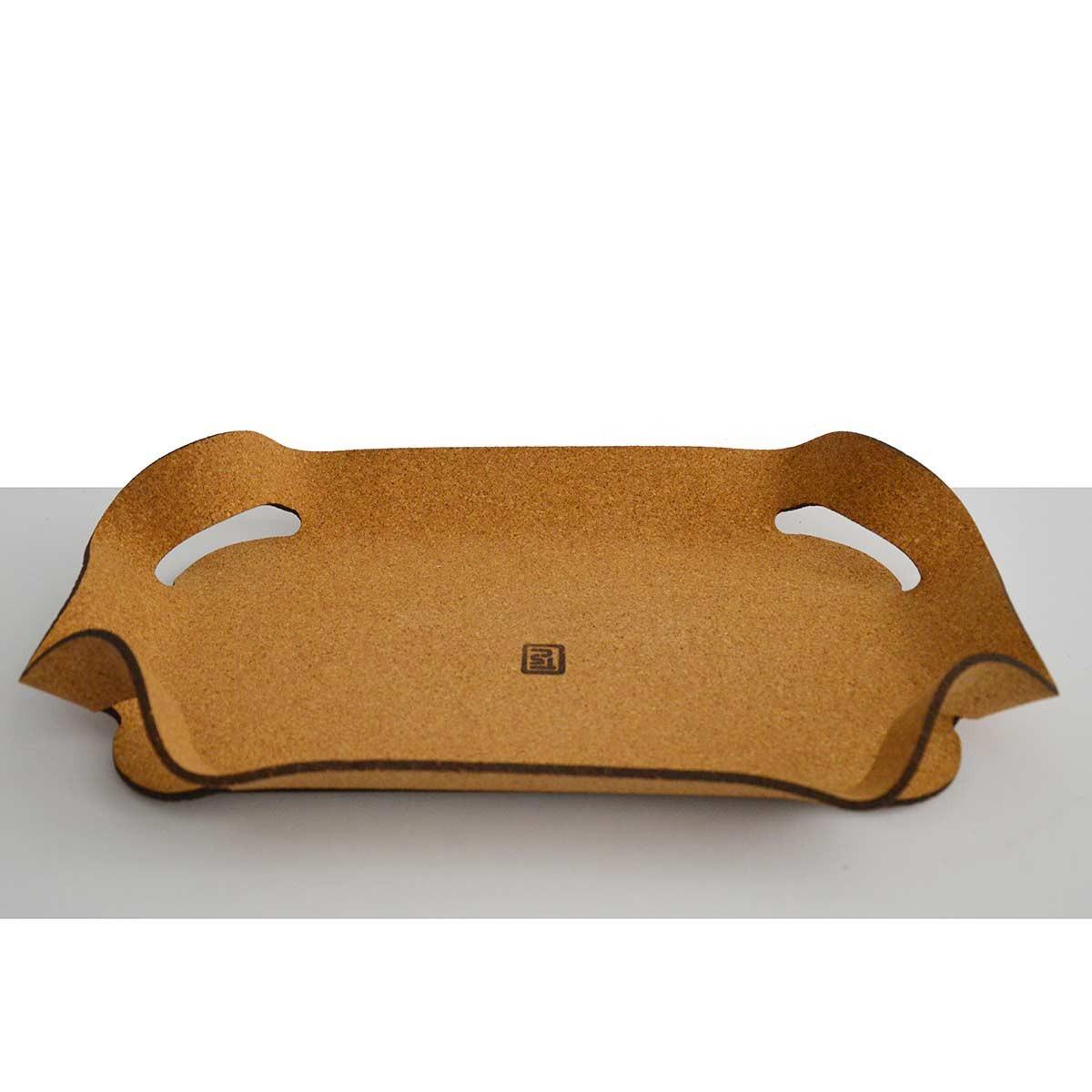Vassoio design in sughero Corqui Tray