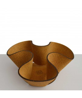 Cestino centrotavola in sughero Corqui Bowl
