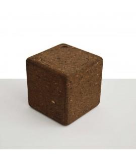 Cubo contenitore in sughero Corqui Cube
