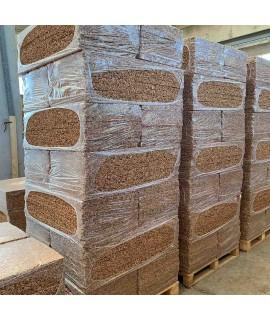 Pannello di sughero BioCork spessore da 2 a 20 cm isolanti in sughero cappotti bonus 110%