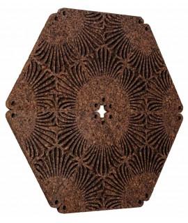 Piastrella 3D in sughero Trifield