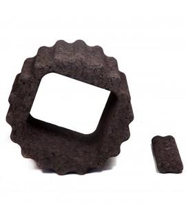 Modulo scaffale in sughero bruno Rollerball
