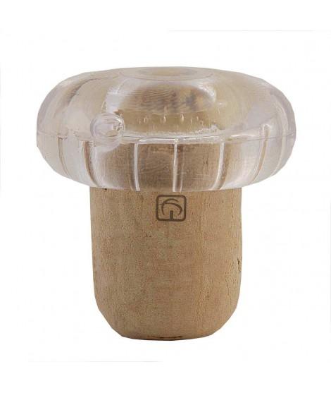 Tappo in sughero colmatato e capsula in plastica Cap Style
