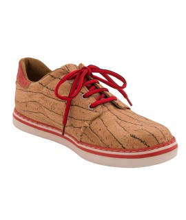 Sneakers da uomo in sughero Peach