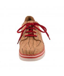 Scarpa sneaker da uomo in sughero Peach