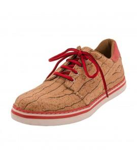 Sneakers da uomo in sughero Peach