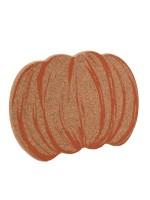 Sottopentola design in sughero a forma di zucca Vegan