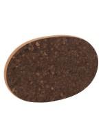 Sottopentola in sughero ovale Black