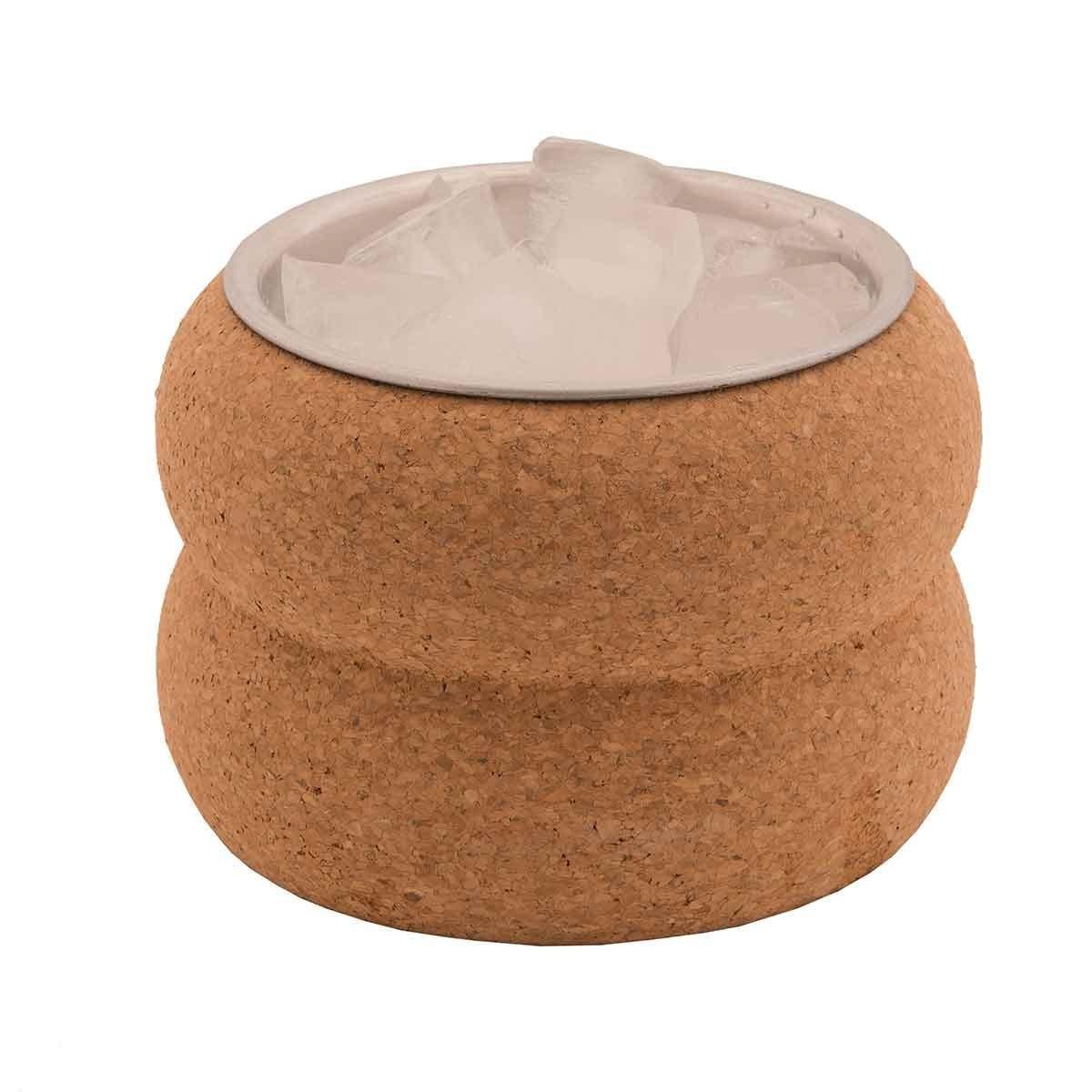 Contenitore per ghiaccio in sughero