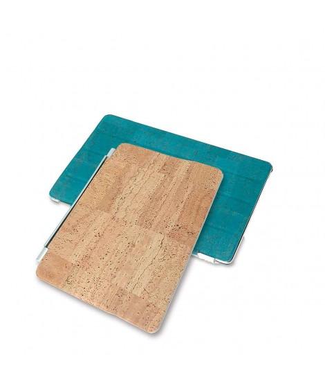 Cover iPad magnetica in sughero pieghevole
