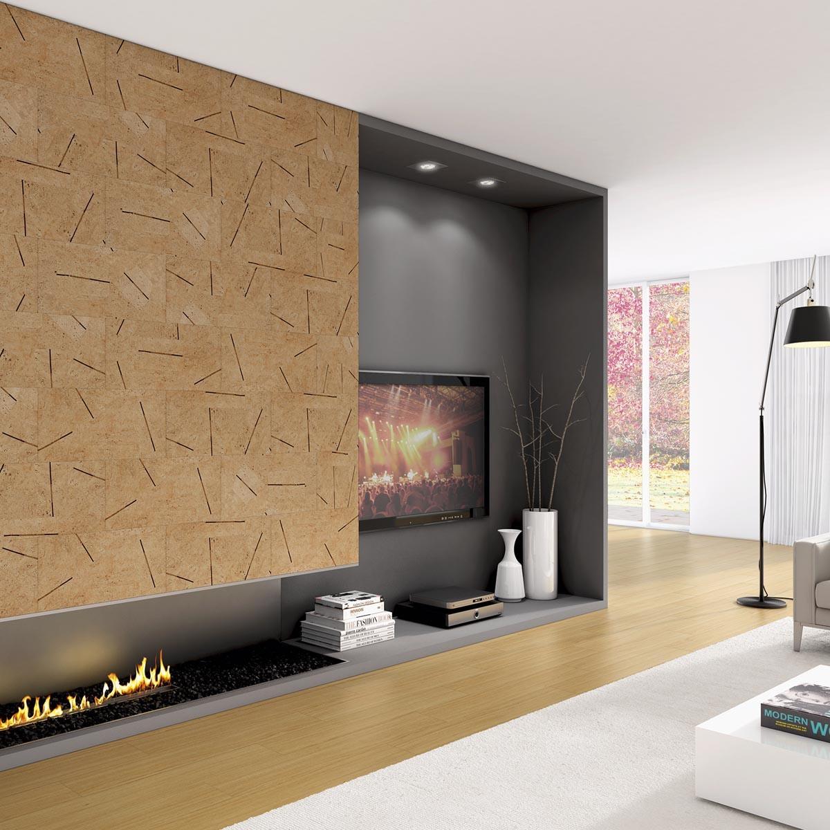Cappotto termico interno in sughero decorativo antimuffa - Rivestimento termico interno ...