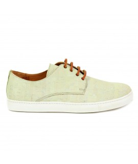 Sneakers in sughero verde giada