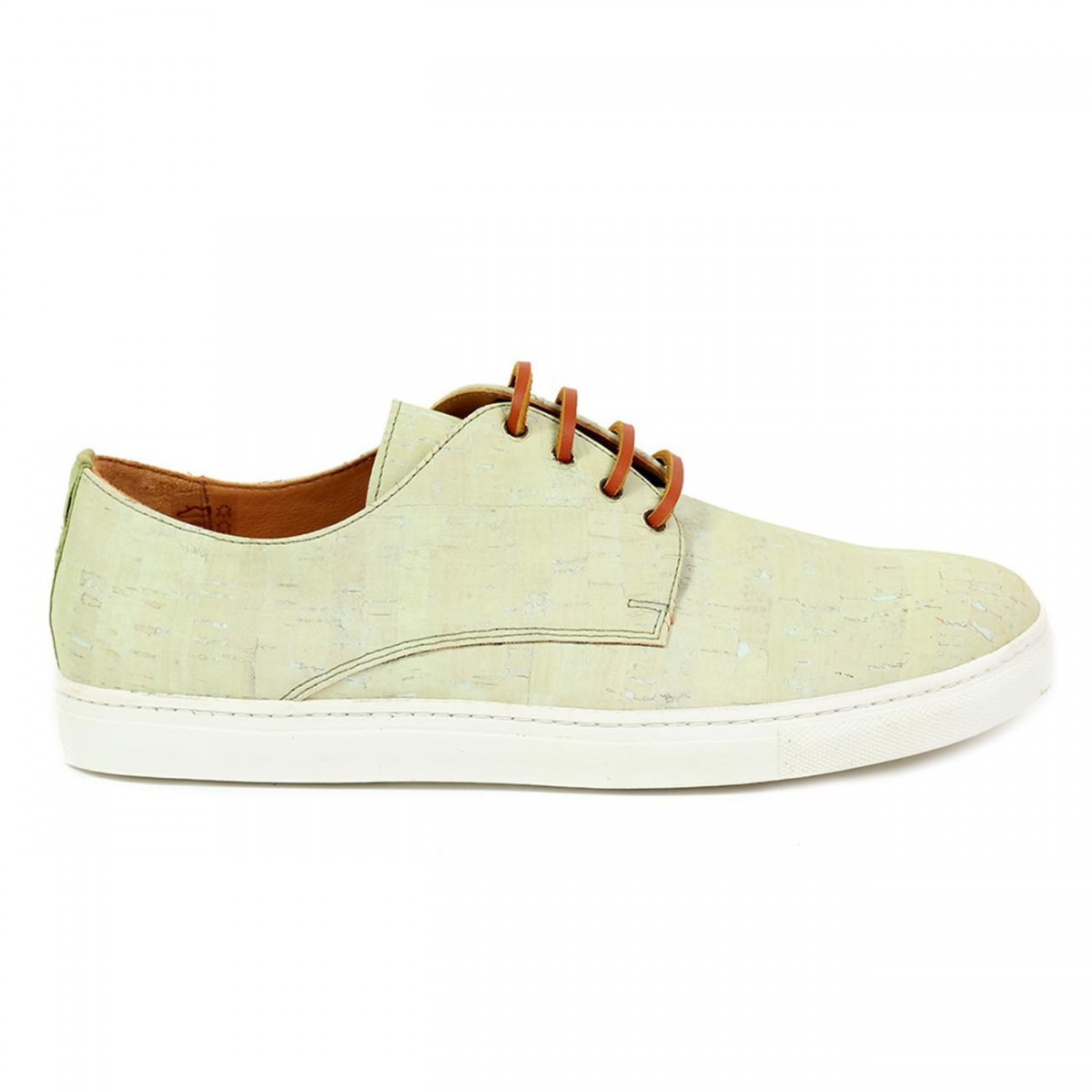 Sneakers in sughero Green