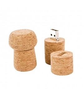 Memoria USB 4GB in sughero