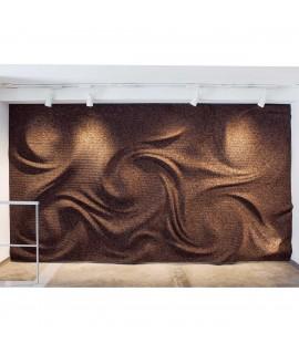 Rivestimento 3D in sughero per pareti e soffitti Corkwirl