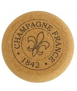 Sgabello in sughero a forma di tappo Champagne