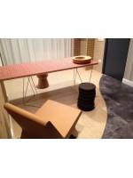 Poltrona lounge design in sughero beige Corqui