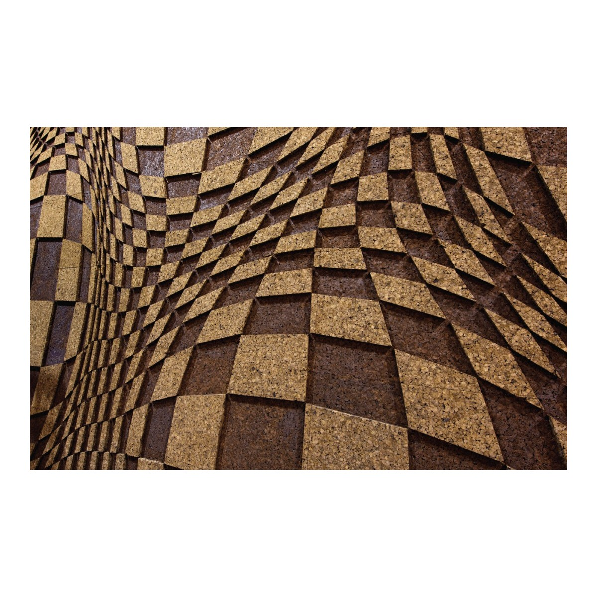Pannelli di sughero 3d fonoassorbente decorativo isolante for Pannelli sughero brico